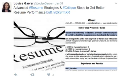 Resume Critique by How To Write A Better C Level Marketing Resume Content