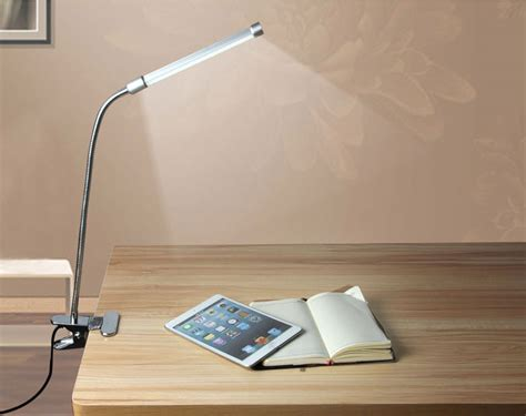 Usb Flexible Reading Led Light Clip-on Beside Bed Desk