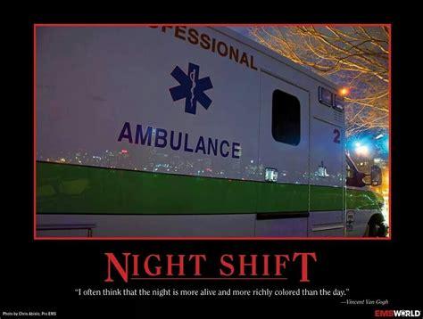 ems night shift ambulances ems check