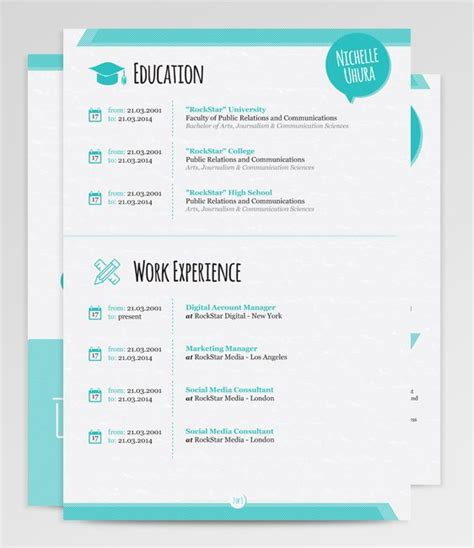 1000 images about berenices resume template on