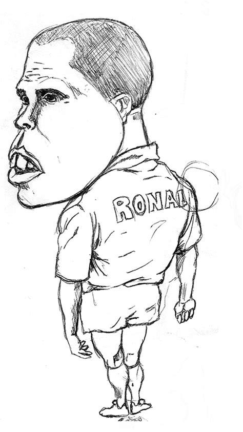 disegni da colorare calcio ronaldo disegni a mano libera