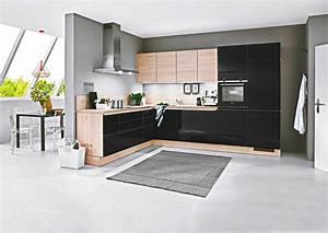 Küche Schwarz Hochglanz : kleine k che schwarz lack f r nur nur bei der ~ Michelbontemps.com Haus und Dekorationen