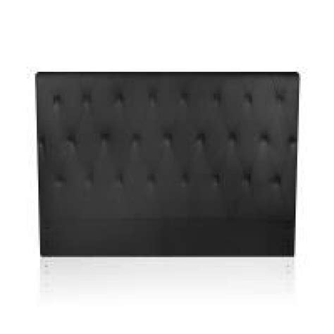 tete de lit bureau tête de lit capitonnée noir 160 cm magic achat vente