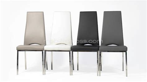 lot de 4 chaises rebekah mobilier moss
