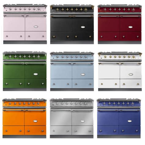 piano cuisine professionnel piano de cuisson lacanche cluny 1000 2 fours gaz plaque