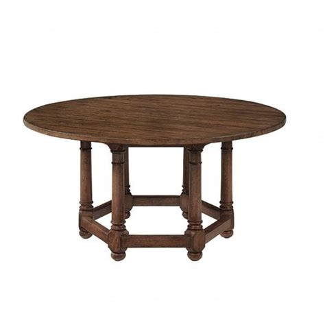 vintage patina dining table by bernhardt furniture