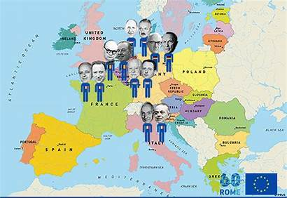 Map European Rome Treaty Commission Giphy Gifs
