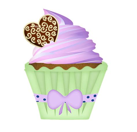 Gratis Illustration Clipart, Clipart Kage, Cupcake