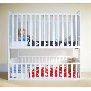Lit Enfant Double : lit double pour bebe jumeaux ~ Teatrodelosmanantiales.com Idées de Décoration