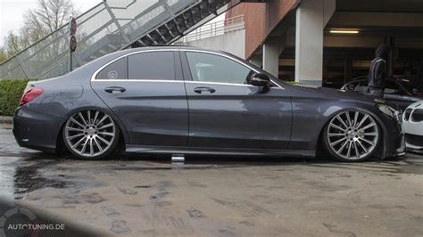 New & Low Mercedesbenz Cklasse W205 Autotuningde
