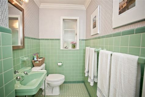 green tile bathroom ideas 36 retro green bathroom tile ideas and pictures
