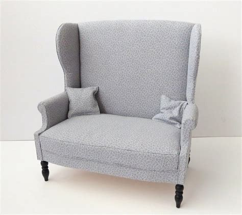 New Wingback Sofa For Sale In My Etsy Shop By Meitina On