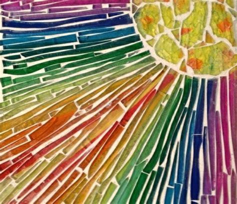 Vorlagen Für Mosaikbilder by Mosaik Basteln Prachtvolle Kunstwerke Schaffen