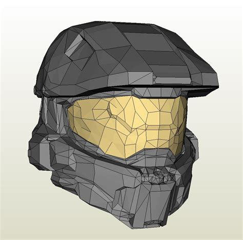 Papercraft Pdo File Template For Halo 4 Masterchief