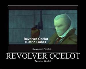 Revolver Ocelot   Metal Gear   Know Your Meme