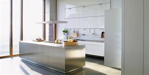 cuisine bulthaup cuisine bulthaup avec hotte aspirante photo 13 20 le sol sombre en marbre d 39 espagne