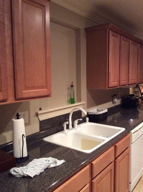 over the kitchen sink wall decor kitchen sink with no window over it