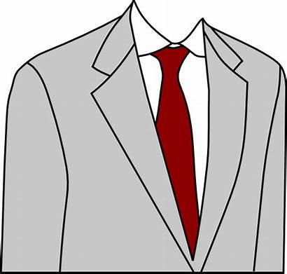 Suit Grey Clip Clipart Gray Mens Clker