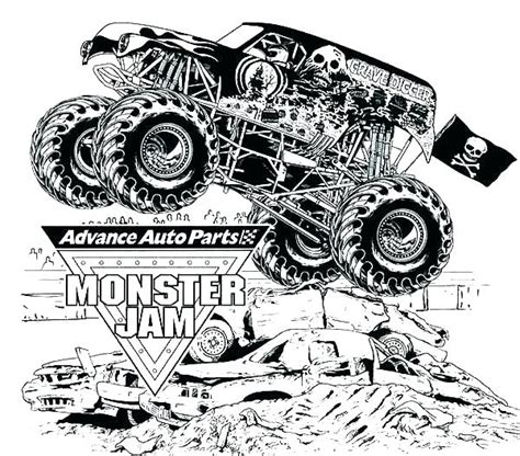 monster truck coloring pages  getcoloringscom  printable colorings pages  print