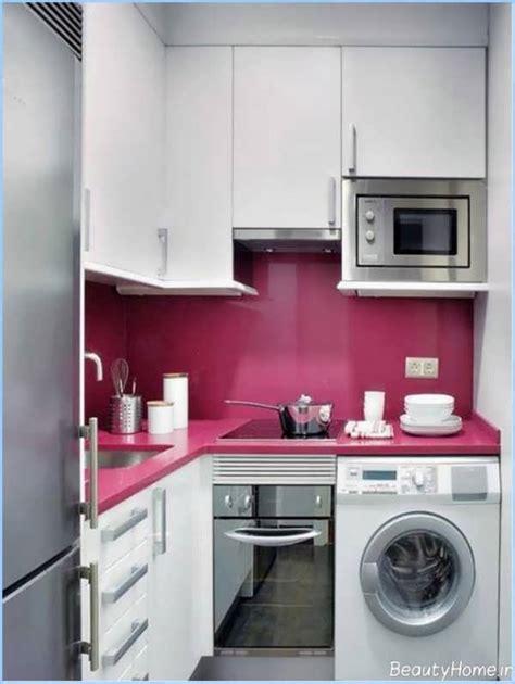 kitchen cabinet designs for small spaces مدل های کابینت آشپزخانه کوچک با طرح های زیبا و ایرانی پسند 9090