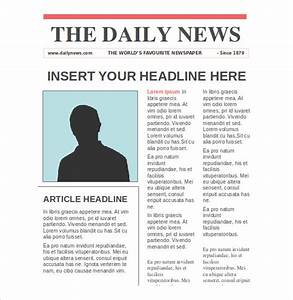 NewsPaper Templates – 14+ Free Word, PDF, PSD, PPT ...