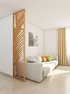 Separateur De Piece Bois : paravent sur mesure paravents design ~ Farleysfitness.com Idées de Décoration