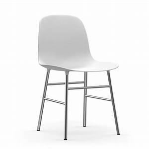 Stuhl Weiß Chrom : form chair chrom von normann copenhagen ~ Indierocktalk.com Haus und Dekorationen