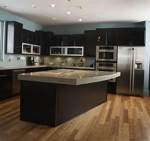 exemple de cuisine avec ilot central 2017 et modele de With modele cuisine avec ilot central