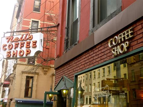 The cafe blend is the best kept secret in the city for home espresso brewers; Jeremiah's Vanishing New York: Neil's Coffee Shop