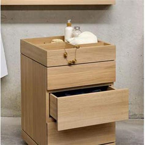 oggetti bagno cassettiera bagno porta oggetti ethnicraft bagno