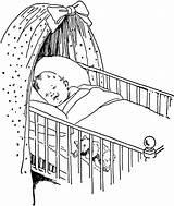 Crib Bassinet Granville Woods Usf Luxoro sketch template