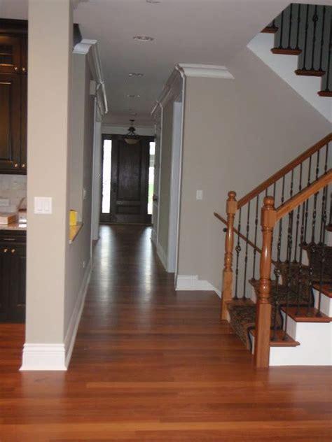 revere pewter  oak combo  white trim home decor
