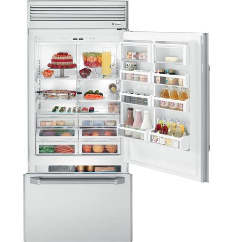 zicpnxrh ge monogram  professional built  bottom freezer refrigerator  monogram