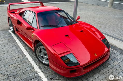 While the ferrari f40 was rumored to have only been finished in red, it looks just as striking in blue. Ferrari F40 - 3 April 2015 - Autogespot
