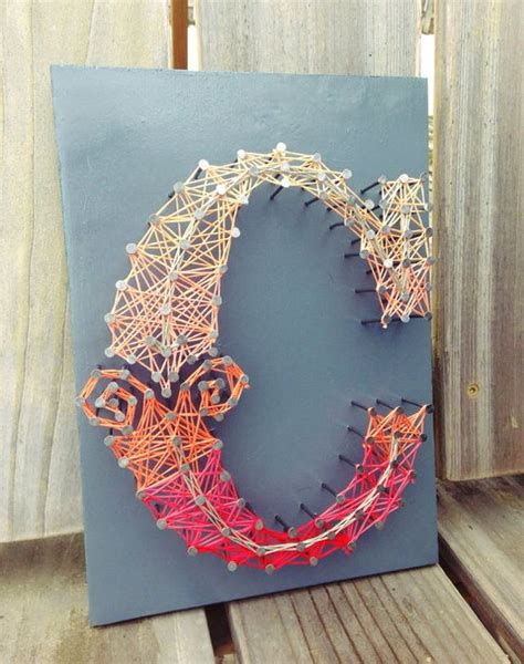 string art letters how to make string letters all diy masters 24989 | string art letters 6