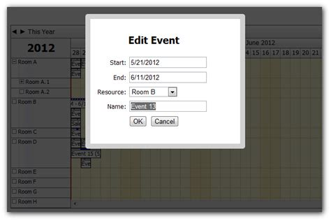 How To Show Event Details In A Modal Dialog (modal.js