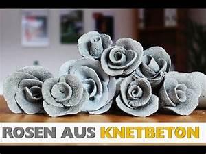 Basteln Mit Knetbeton : beton giessen diy eine gro e rose und dazu die form ~ Lizthompson.info Haus und Dekorationen