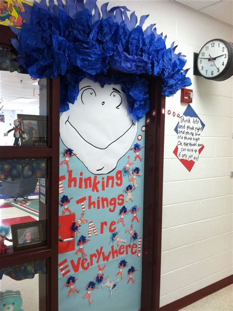 dr seuss door decorating ideas my classroom door for dr seuss day school ideas