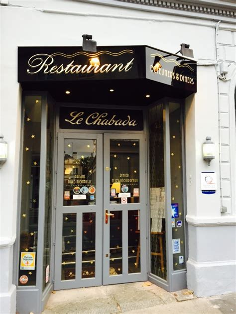 le chabada restaurant cr 233 ative rouen 76000