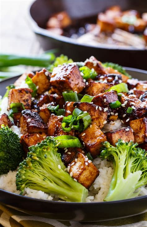 asian garlic tofu spicy southern kitchen