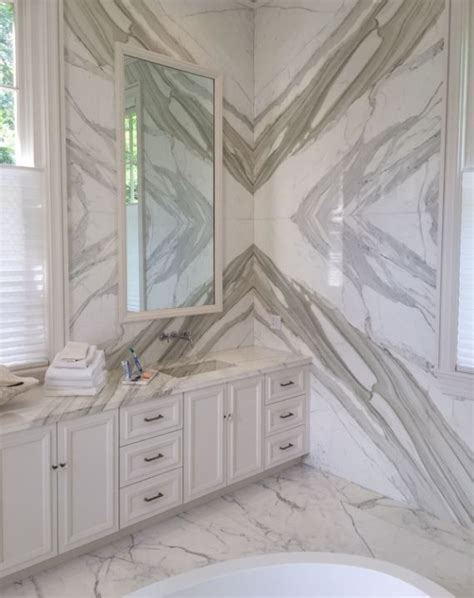 Calacatta Borghini Bathroom ? Absolute Kitchen & Granite