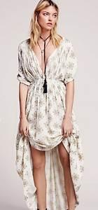 Robe Longue Style Boheme : robe boheme chic ~ Dallasstarsshop.com Idées de Décoration