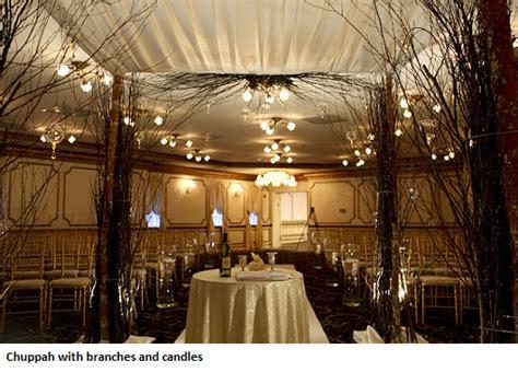 orthodox jewish wedding flowers  chuppahs