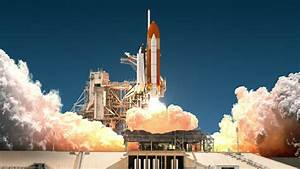 Space Shuttle Launch. 3D Animation. Stock Footage Video ...