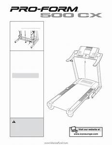 Proform 500 Cx Treadmill