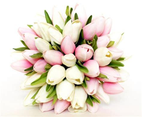 wedding bouquet tulip pink wedding bouquet pink
