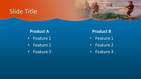 Free Fishing PowerPoint Template - Free PowerPoint Templates