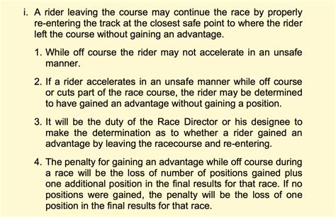 ama motocross rules mxa s ama rule of the week the rule breakers that the ama