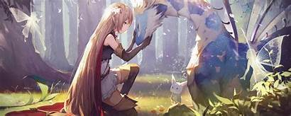 Anime Dual Shadowverse Blonde Rated 2560
