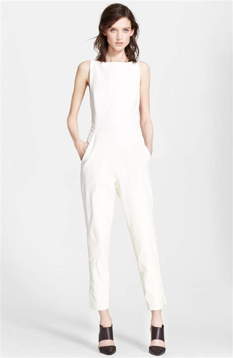white jumpsuit for wedding white jumpsuits for weddings ourbigadventure